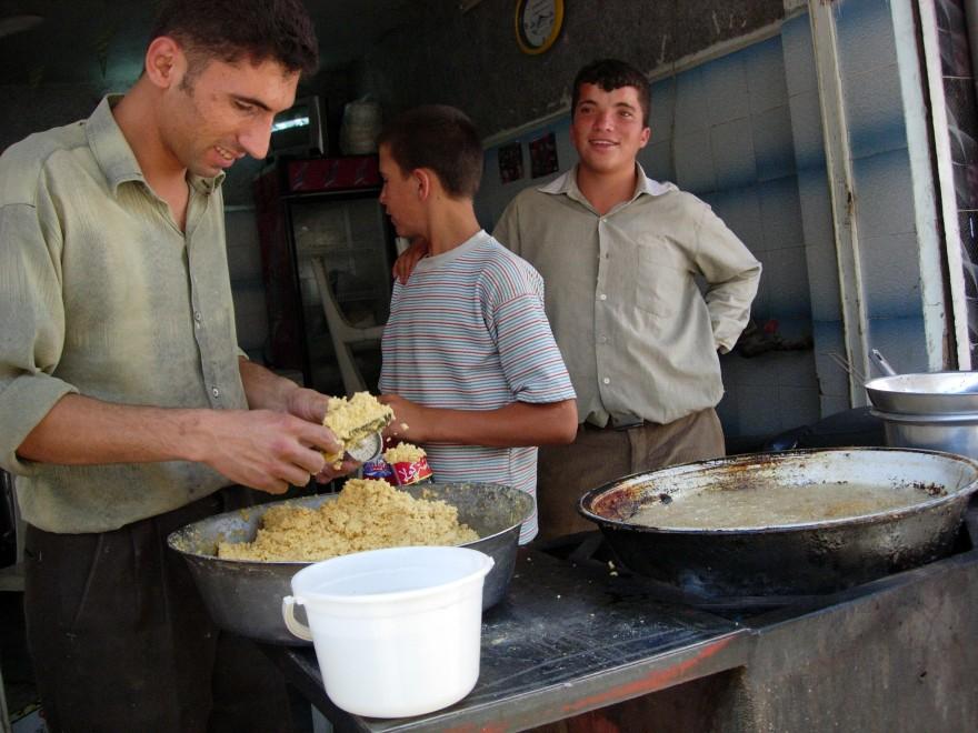 Falafelmakers van Serjilla